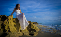 Quinceanera Beach Photo shoot 1
