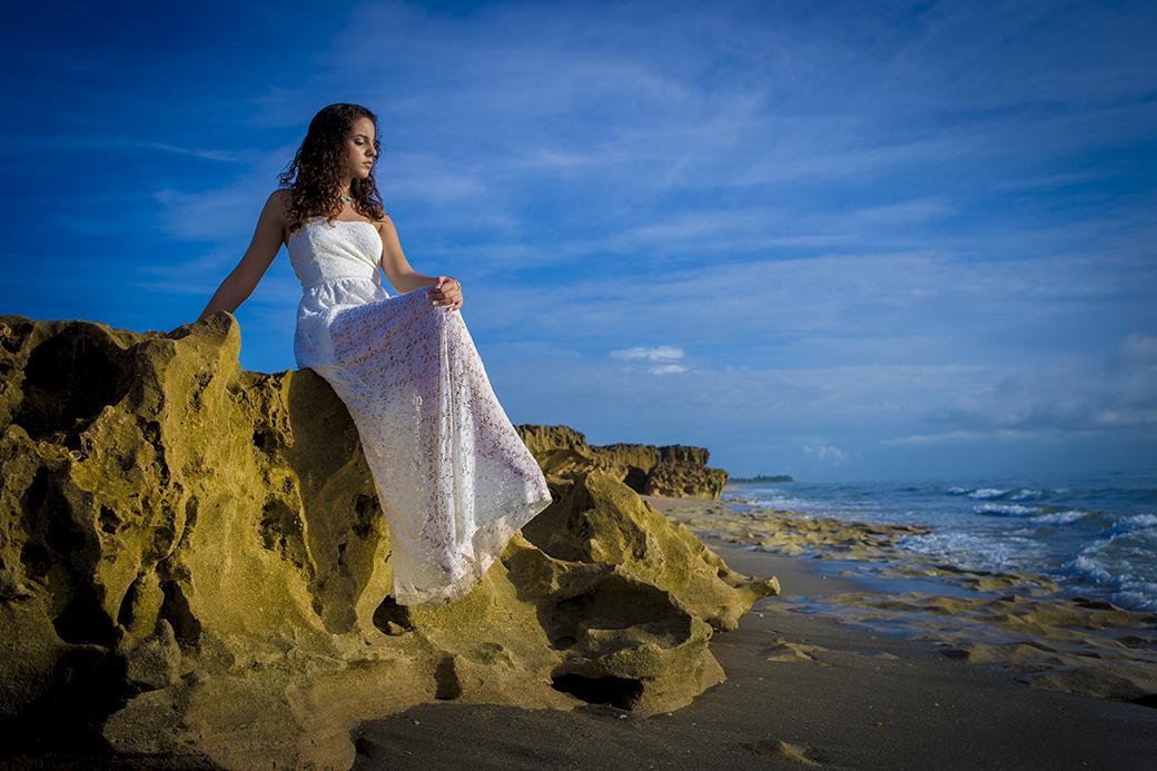 Quinceanera Beach Photo shoot 1