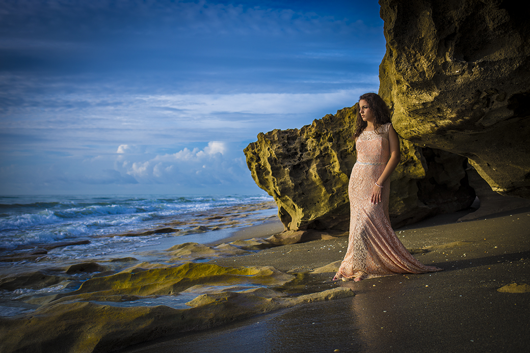 Quinceanera Beach Photo shoot 2