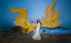 Quinceanera photo shoot