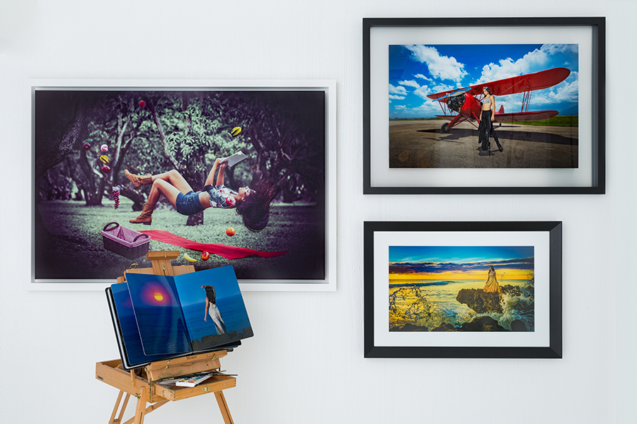 Acrylic Wall Display , Wrap Canvas and Photographic Paper Enlargements