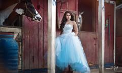 Quinceañera Barn Photo Shoot